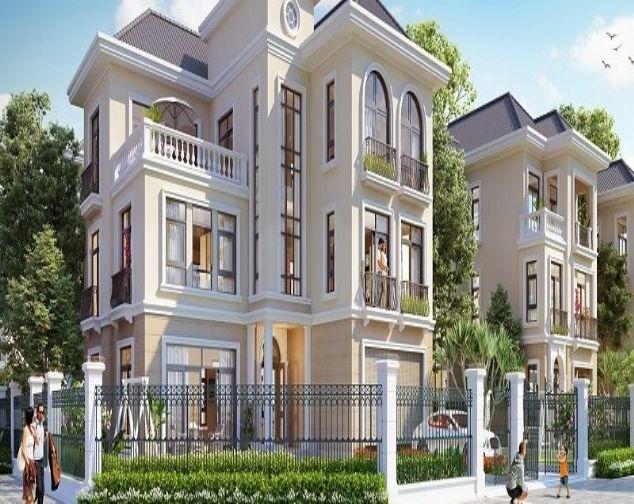 Cho thuê biệt thự 02 mặt tiền Vinhomes Smart City. Thiết kế sang trọng 2