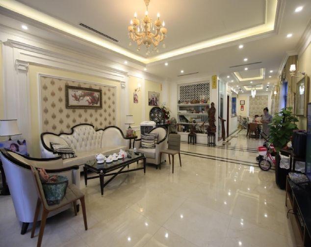 Cho thuê biệt thự đủ đồ giá ưu đãi nhất tại Khu Đô Thị Vinhomes Riverside The Harmony, Long Biên 1