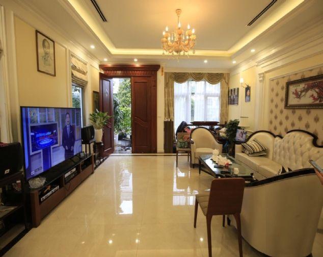 Cho thuê biệt thự đủ đồ giá ưu đãi nhất tại Khu Đô Thị Vinhomes Riverside The Harmony, Long Biên 2