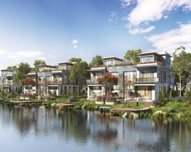 Cho thuê biệt thự view hồ Vinhomes Smart City. DT290m2 1