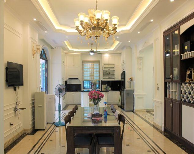 Cho thuê siêu Biệt Thự Đơn Lập Hoa hậu tại Khu đô thị Vinhomes Riverside 6