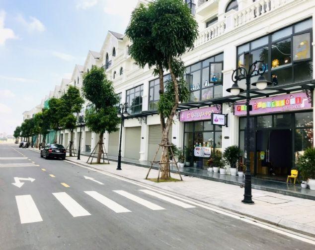 Nhà phố Shophouse đang hoàn thiện, vị trí đẹp, DT 70m2 cần cho thuê tại Vinhomes Ocean Park 1